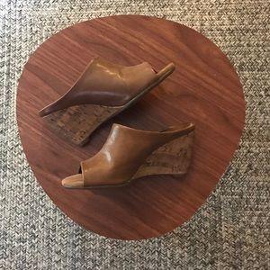 AEROSOLES Shoes - Aerosoles Tan Wedges - Never Worn!